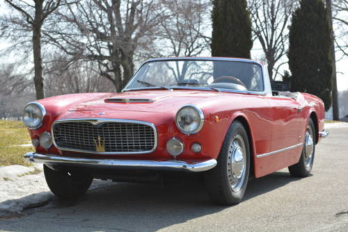 1960 Maserati 3500 Vignale Spyder For Sale (picture 2 of 5)