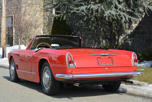 1960 Maserati 3500 Vignale Spyder For Sale (picture 3 of 5)