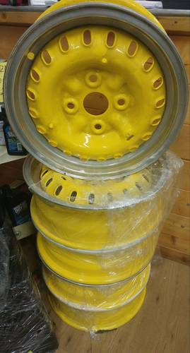 Original BORRANI wheels for Maserati 3500 GT For Sale (picture 1 of 3)