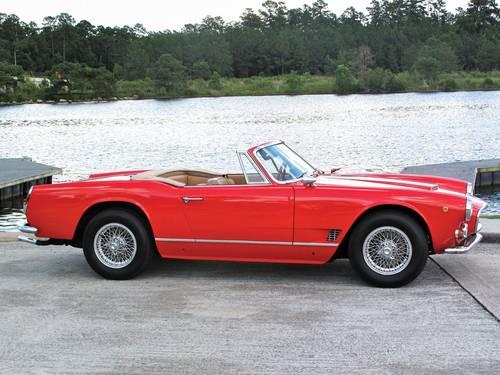 1962 Maserati 3500 Vignale Spyder For Sale (picture 1 of 5)