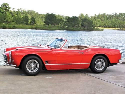 1962 Maserati 3500 Vignale Spyder For Sale (picture 2 of 5)