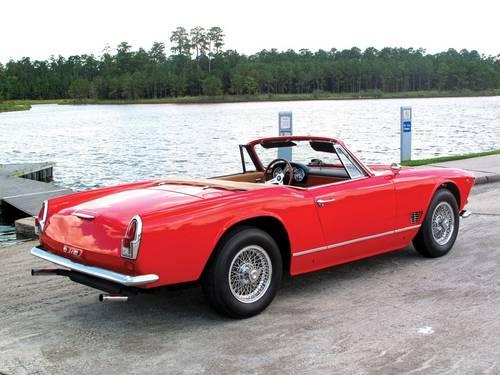 1962 Maserati 3500 Vignale Spyder For Sale (picture 3 of 5)