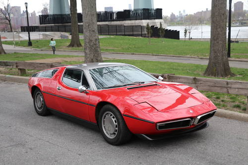 1973 Maserati Bora Red 4.9 For Sale (picture 1 of 5)