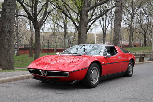 1973 Maserati Bora Red 4.9 For Sale (picture 2 of 5)