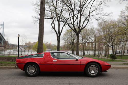 1973 Maserati Bora Red 4.9 For Sale (picture 3 of 5)