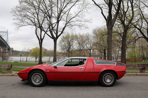 1973 Maserati Bora Red 4.9 For Sale (picture 4 of 5)