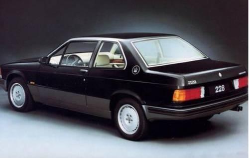 1990 MASERATI BITURBO 228 For Sale (picture 1 of 1)