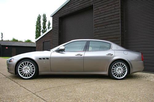 2010 Maserati Quattroporte 4.7 Sport GTS Auto (66,754 miles) SOLD (picture 1 of 6)