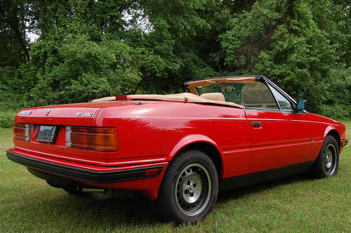 1987 Maserati BiTurbo Spyder Red/Tan 5-speed nice For Sale (picture 3 of 6)