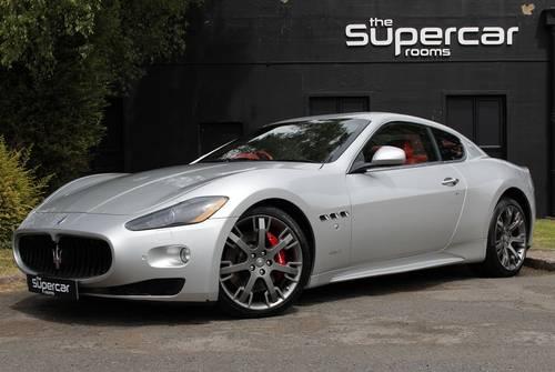 2009 Maserati Granturismo S 4.7 V8 - MC Shift - 12K Miles SOLD (picture 1 of 6)
