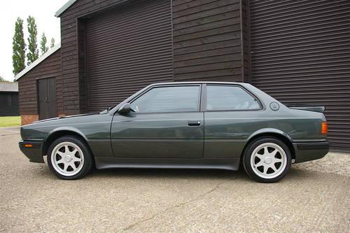 1991 Maserati Biturbo 2.8 V6 222 SR Auto LHD (23226 miles) SOLD (picture 1 of 6)