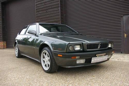 1991 Maserati Biturbo 2.8 V6 222 SR Auto LHD (23226 miles) SOLD (picture 2 of 6)