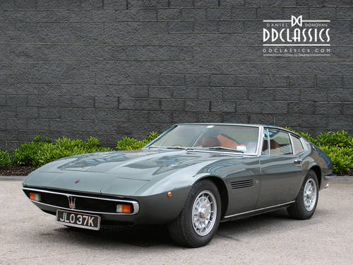 1972 Maserati Ghibli 4.7 Coupe RHD SOLD (picture 1 of 6)