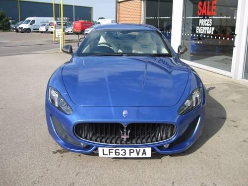 2013 (63) Maserati Granturismo Sport 4.7 V8 2dr Coupe Auto SOLD (picture 2 of 6)
