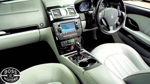 2010 MASERATI QUATTROPORTE 4.7 V8 S ZF AUTOMATIC 40k Miles Grey   For Sale (picture 5 of 6)