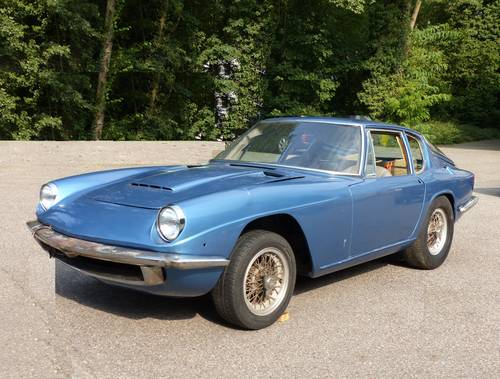 1967 Maserati Mistral project, 4-liter engine, matching numbers SOLD