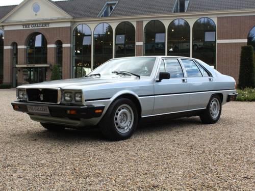 1985 Maserati Quattroporte series III suberb original condition! For Sale (picture 1 of 6)