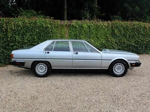 1985 Maserati Quattroporte series III suberb original condition! For Sale (picture 3 of 6)