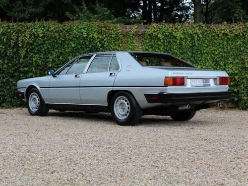 1985 Maserati Quattroporte series III suberb original condition! For Sale (picture 4 of 6)