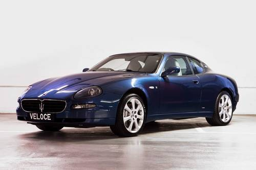 2005 Maserati 4200 GT Coupe RHD fase lift Manual Gearbox  SOLD (picture 1 of 6)