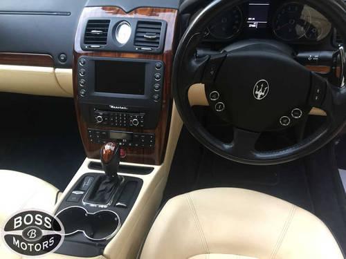 2010 MASERATI QUATTROPORTE 4.2 V8 S ZF AUTOMATIC 26k Miles Blue For Sale (picture 4 of 6)