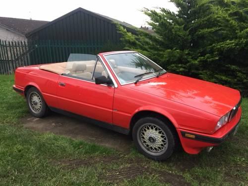Maserati Biturbo Spyder Zagoto 1988 . SOLD (picture 1 of 5)