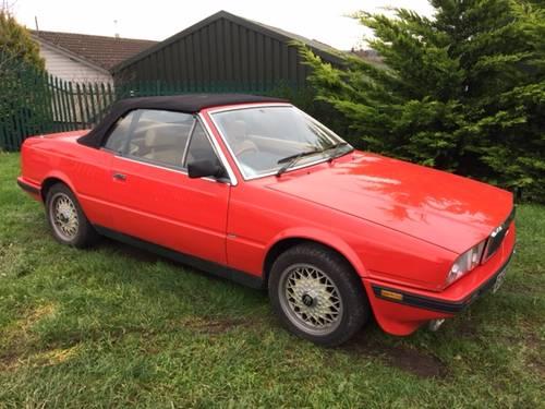 Maserati Biturbo Spyder Zagoto 1988 . SOLD | Car And Classic