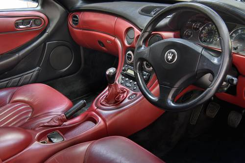 2000 Maserati 3200GT Manual Blue Red UK FSH SOLD (picture 5 of 6)