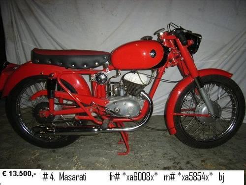 1959 maserati motor bikes For Sale (picture 4 of 6)