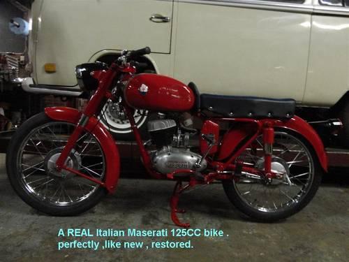 1959 maserati motor bikes For Sale (picture 6 of 6)