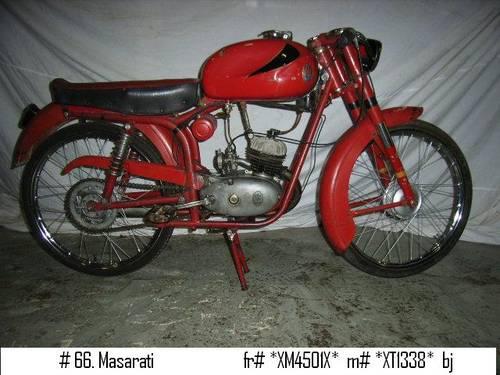 Several Maserati Classic Bikes For Sale (picture 1 of 6)