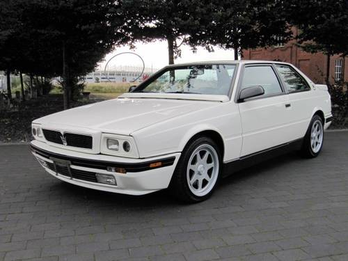 1992 MASERATI 222 SR COUPE GHIBLI 2.8 V6 AUTO ONE OF ONLY 210 *  For Sale (picture 1 of 6)