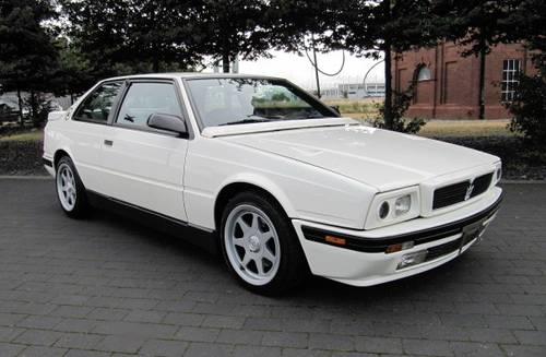 1992 MASERATI 222 SR COUPE GHIBLI 2.8 V6 AUTO ONE OF ONLY 210 *  For Sale (picture 3 of 6)