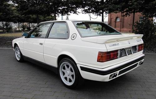1992 MASERATI 222 SR COUPE GHIBLI 2.8 V6 AUTO ONE OF ONLY 210 *  For Sale (picture 4 of 6)