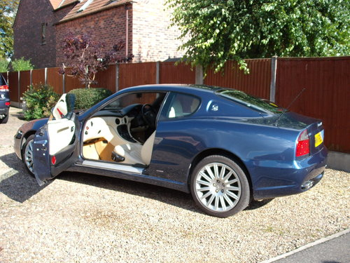 Maserati 4200 GT Coupe Cambiocorsa 2002 49k Paddle £9k Spent SOLD (picture 2 of 6)