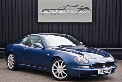 2001 Maserati 3200 GT *Full Maserati Main Dealer History* SOLD (picture 1 of 6)