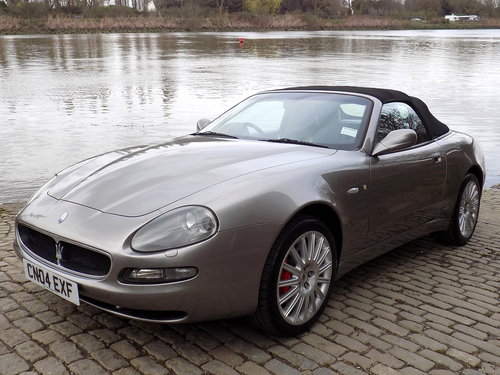 2004 MASERATI SPYDER SOLD (picture 3 of 6)