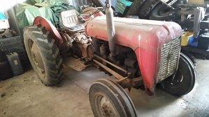 1956 Massey ferguson te35 4cyl diesel original good wo!