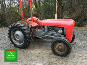 1961 MASSEY FERGUSON 35 ALL WORKS CHEAP VINTAGE TRACTOR  SOLD