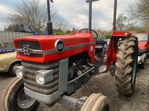 1969 Massey Ferguson 165 Tractor SOLD by Auction
