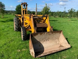1969 Massey ferguson tractor 2203 forklift &bucket For Sale