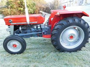 1968 Massey 135 Complete Restoration