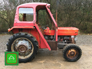 1968 MASSEY FERGUSON 135 WITH RARE DUPLE CAB ALL WORKS SEE VID  SOLD