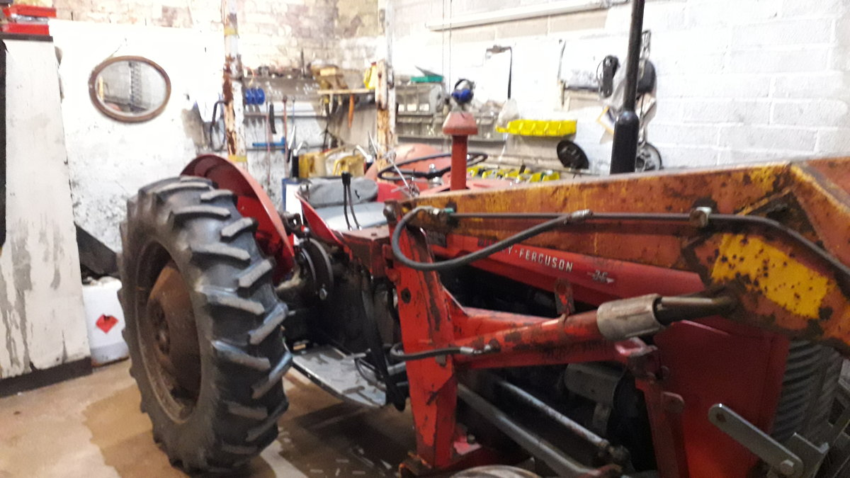 1959 Massey Ferguson 35 3 cylinder For Sale (picture 4 of 5)