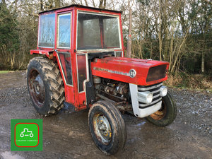 1970 MASSEY FERGUSON 135 GOOD ALL ROUND TRACTOR SEE VID SOLD