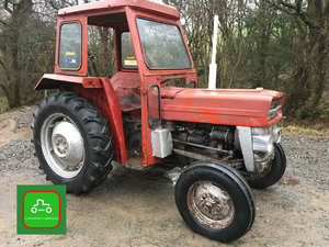 MASSEY FERGUSON 135 ROT FREE ROAD REG ALL WORKS 1969 TRACTOR SOLD