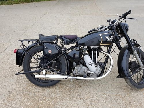 1946 Matchless 350cc single For Sale (picture 2 of 6)