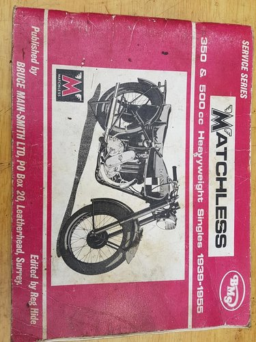 1946 Matchless 350cc single For Sale (picture 6 of 6)