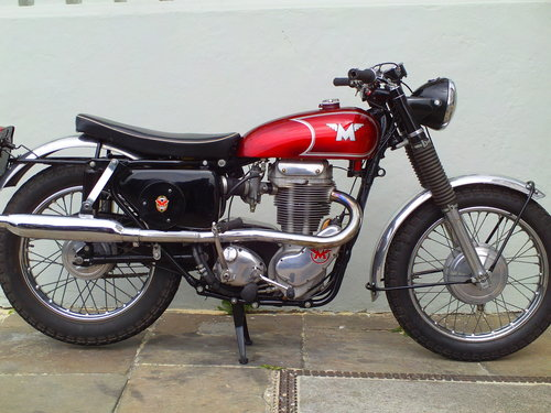 1966 MATCHLESS G80 CS SOLD (picture 1 of 6)