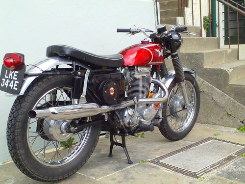 1966 MATCHLESS G80 CS SOLD (picture 2 of 6)